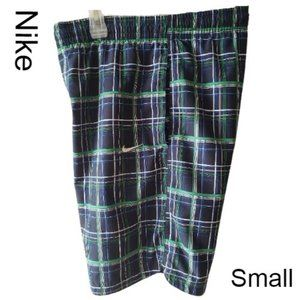 Nike Men Casual Plaid Shorts w/Pockets